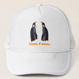 Emperor Penguins Gone Fishing Cap