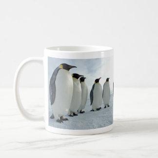 Emperor Penguins Having a Meeting Coffee Mug