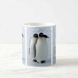 Emperor Penguins Huddled Coffee Mug