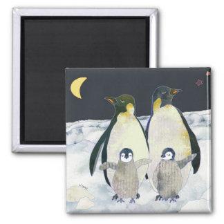 Emperor Penguins Magnet