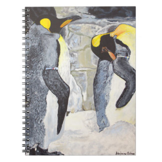 Emperor Penguins on Ice Notebook
