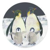 Emperor Penguins Sticker sticker