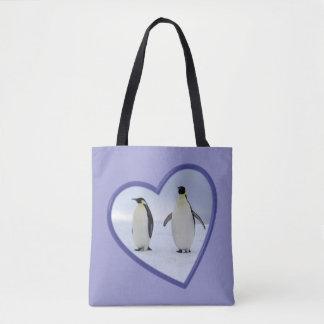 Emperor Penguins Tote Bag