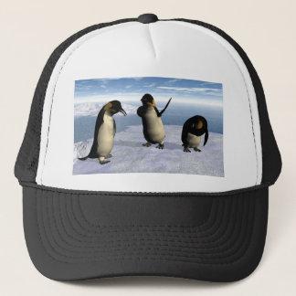 Emperor Penguins Trucker Hat