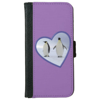 Emperor Penguins Wallet Phone Case For iPhone 6/6s