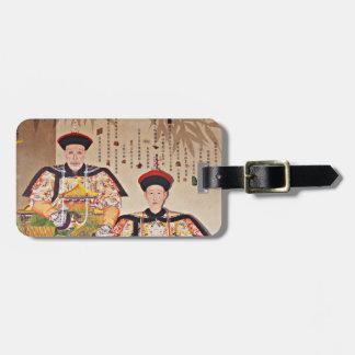 Emperor Qianlong Luggage Tag