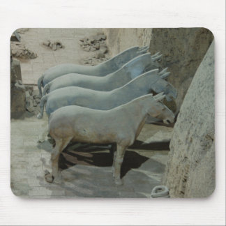 Emperor Qin s terracotta army Xian China Mouse Mats