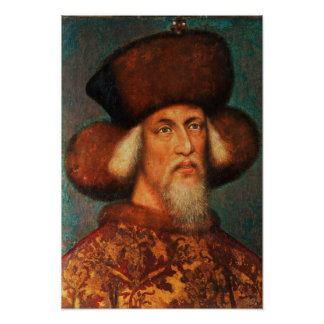 Emperor Sigismund , 1433 Poster