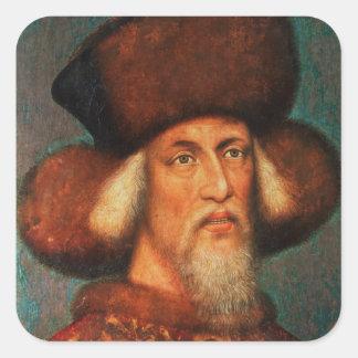 Emperor Sigismund , 1433 Square Sticker