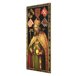 Emperor Sigismund, Holy Roman Emperor Canvas Print