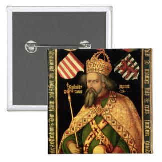 Emperor Sigismund, Holy Roman Emperor Pinback Button