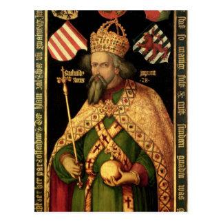 Emperor Sigismund, Holy Roman Emperor Postcard
