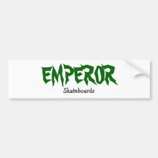 EMPEROR, Skateboards Bumper Sticker