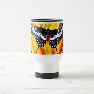 Emperor Swallowtail Butterfly Travel Mug