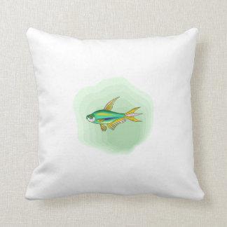 Emperor Tetra Fish Pillow