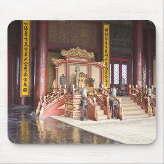 Emperor Throne Forbidden City Beijing Mouse Pad