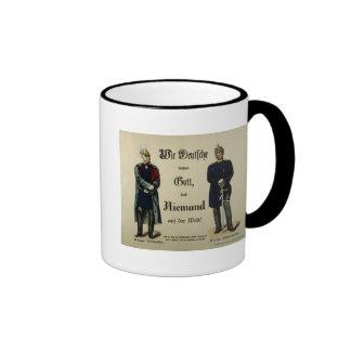 Emperor Wilhelm I and Prince Bismarck Ringer Mug