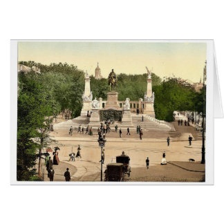 Emperor William's Memorial, Breslau, Silesia, Germ Greeting Card