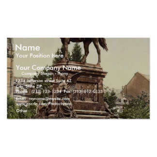 Emperor William's Monument, Frankfort on Main (i.e Business Card
