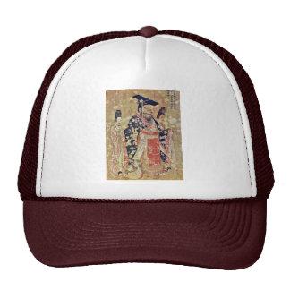 Emperor Wu Ti Of The Late Chou Dynasty By Yen Li Trucker Hat
