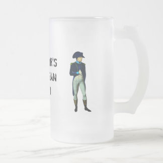 EMPEROR'S EUROPEAN TOUR FROSTED GLASS BEER MUG