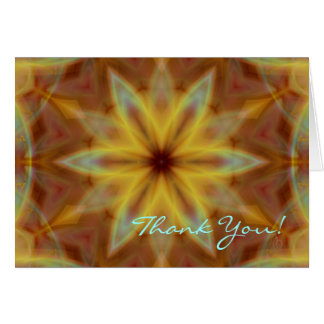 Emperor's Fire Thank You Note Greeting Card