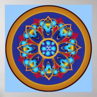 Emperor's Wheel Print