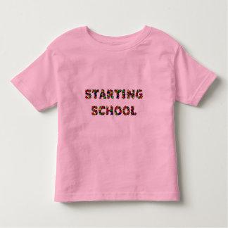 Empezar la escuela playera de bebé