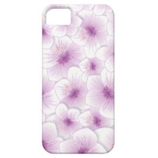 Empfindliche lila Blüte iPhone 5 Case