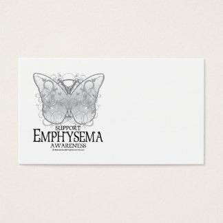 Emphysema Butterfly Business Card
