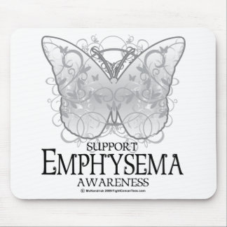 Emphysema Butterfly Mouse Pad