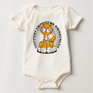 Emphysema Cat Baby Bodysuit