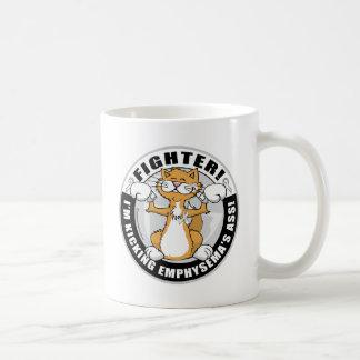Emphysema Cat Fighter Coffee Mug