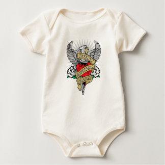 Emphysema Dagger Baby Bodysuit