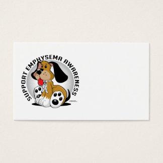 Emphysema Dog Business Card
