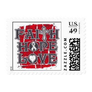 Emphysema Faith Hope Love Stamp