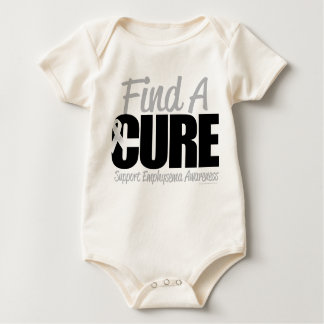 Emphysema Find A Cure Baby Bodysuit