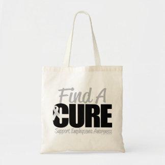 Emphysema Find A Cure Tote Bag