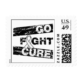 Emphysema Go Fight Cure Postage