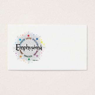 Emphysema Lotus Business Card