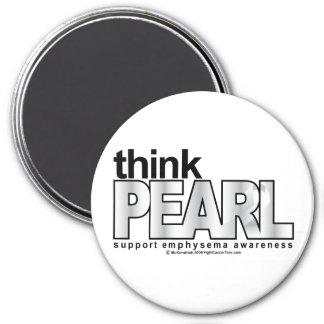 Emphysema Think Pearl Magnet