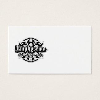 Emphysema Tribal Business Card