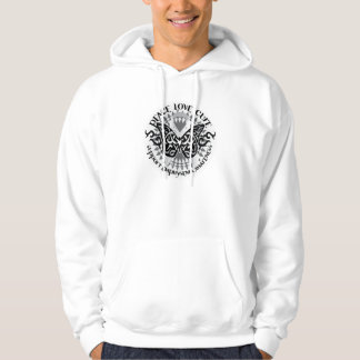 Emphysema Tribal Butterfly Hoodie