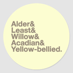Round Sticker with Empids! design
