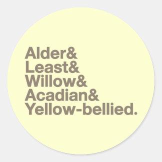 Empids! Classic Round Sticker