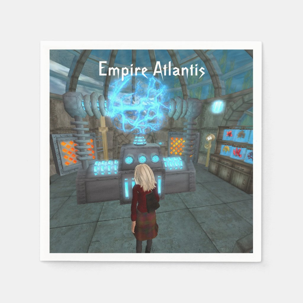 Empire Atlantis Party Napkins