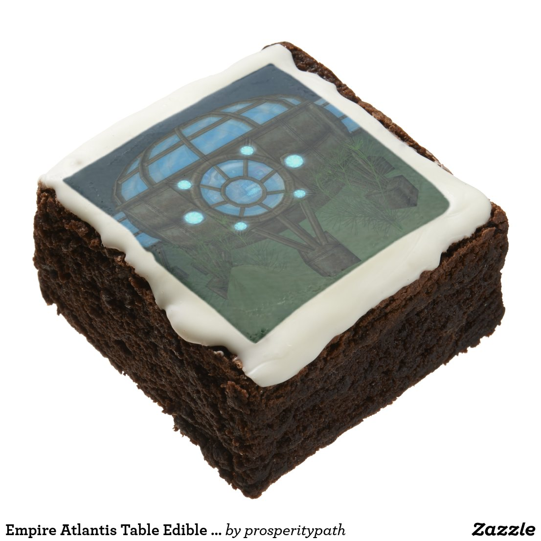 Empire Atlantis Table Edible Gaming Pieces Chocolate Brownie