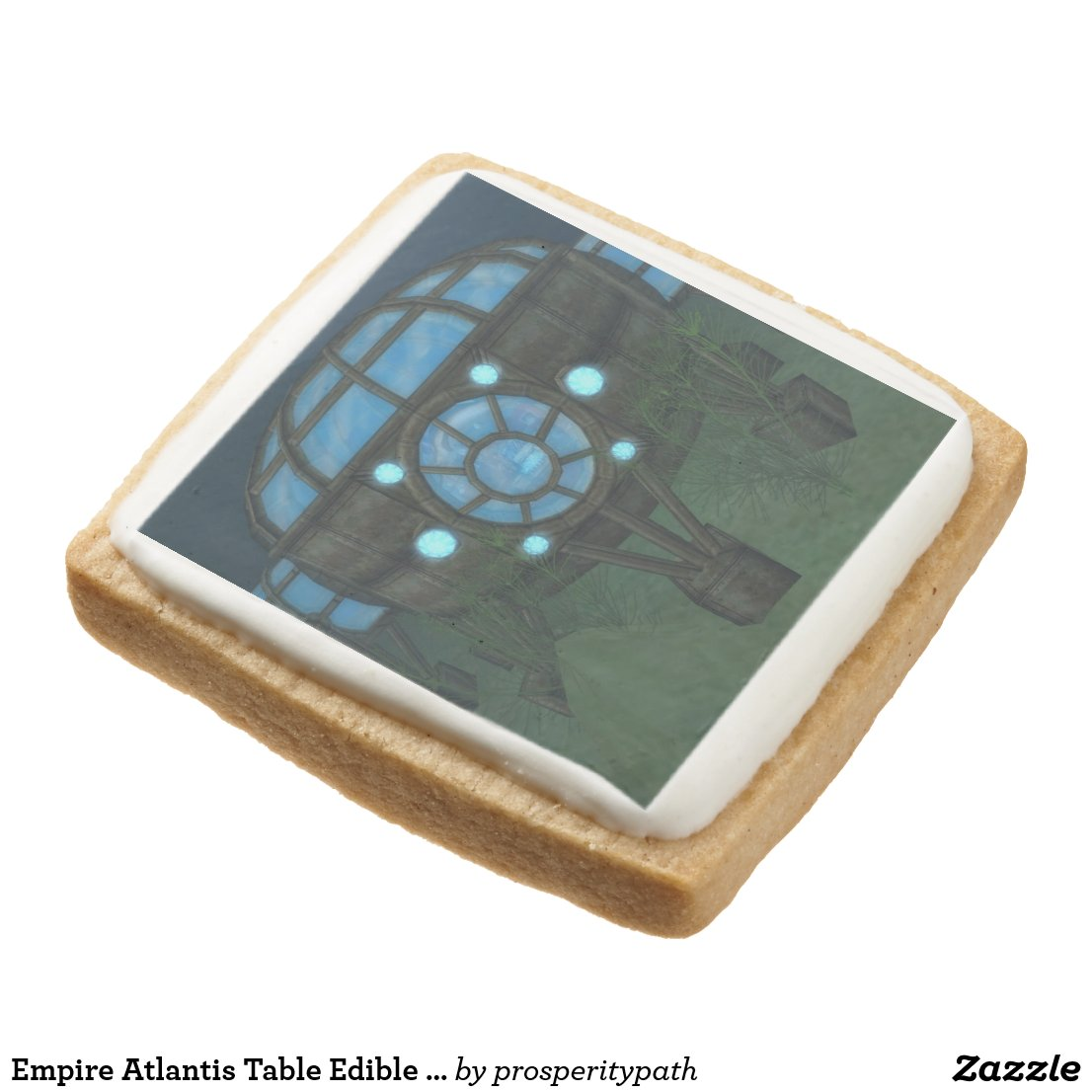 Empire Atlantis Table Edible Gaming Pieces Square Shortbread Cookie