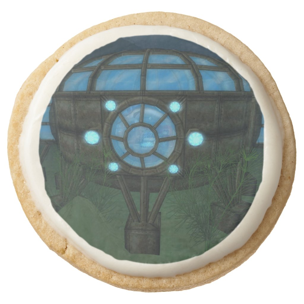 Empire Atlantis Table Edible Trade Party Cakes Round Shortbread Cookie