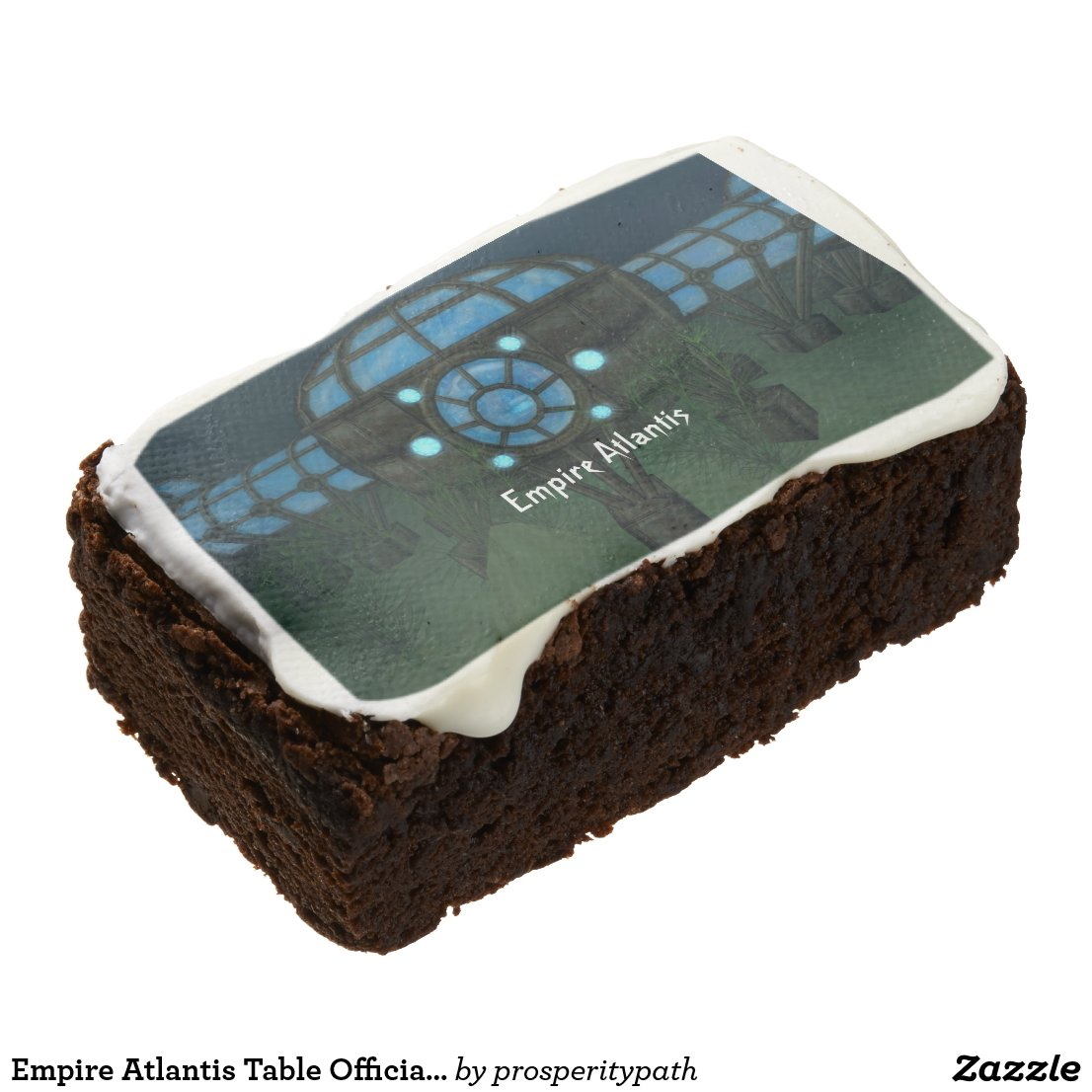 Empire Atlantis Table Official Edible Prize Brownie